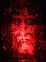 Hologram of shroud's face