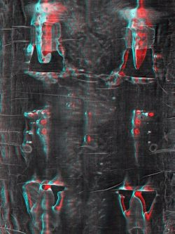 Anaglyph photo 50x70 cm(back)